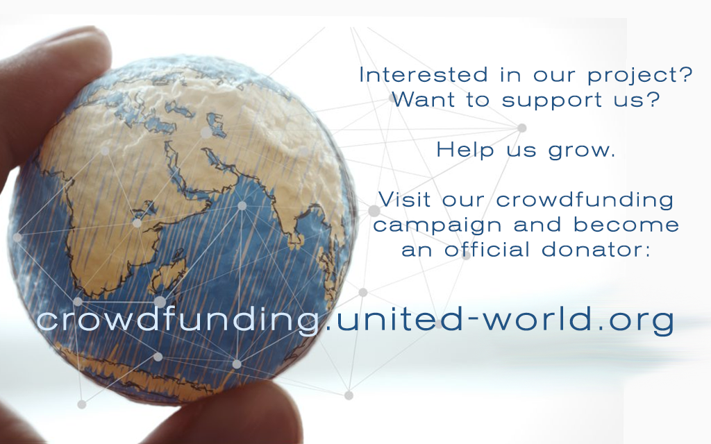 Visit our crowdfunding campaign and become an official donator